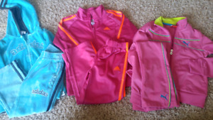 Girls track suits size 4\5