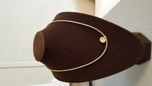 REDUCED 14k 20 inch rope chain