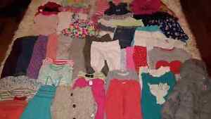 Huge Lot of Baby Girl Clothes - 18 to 24 months