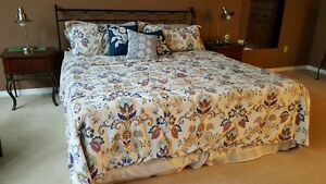 Full King Bedroom Suite including new Mattress