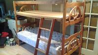 set de chambre lits jumeaux