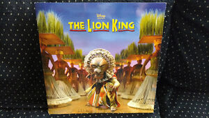Three Lion King programs & double-sided Lion poster