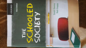 The Schooled Society 3rd Edition by Davies and Guppy
