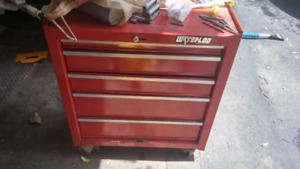 Small tool cart on wheels 5 drawers