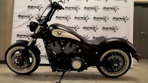 2014 Victory High-Ball Suede Black and White