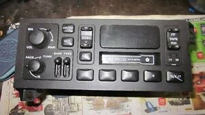 Chrysler/ Dodge Tape deck. Factory