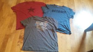 Men's T Shirts: John Varvatos & Triumph - Size XXL