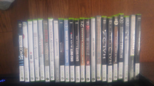 Xbox 360 + games for sale