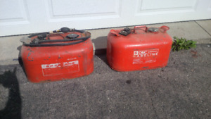 outboard motor gas tanks