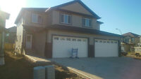 Brand New Double Car Garage Duplex ready to movein