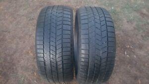 2 pneus d'hiver 225-40-18 Pirelli Winter 240 Snowsport