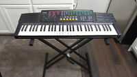 Casio Keyboard with stand must go