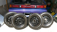 4 Predator Radial GTS 175/70 R13 82S M+S for CRX/Civic
