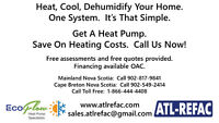 Heat Pumps by ATL-REFAC Limited - Sales, Installation & Service