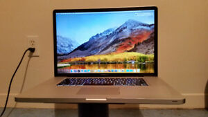 Upgraded MacBook Pro 17-inch, Early 2011/ 8GB RAM/ 1GB GDDR5