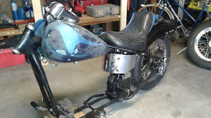 Harley Ironhead Sportster project