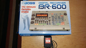 Boss BR600 Digital recorder and Behringer Ms20 monitors