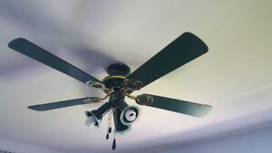 Ventillateur avec lumières
