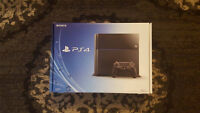 Playstation 4 along with two FREE games