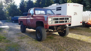 1985 Chevy 4x4 project