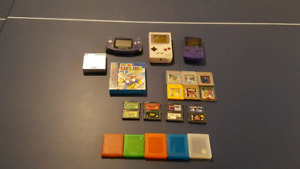 Handheld [GB/GBA/SP] Systems + Accessories + Games