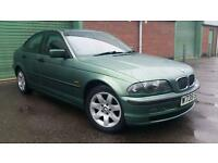 2000(W) BMW 318 1.9i SE GREEN SALOON E46 MANUAL