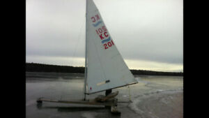Ice Sailing Boat