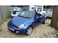Ford Streetka 1.6 2005 Luxury VERY LOW MILES ONLY 2 OWNERS