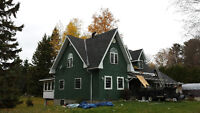 Fall is here! update your roof before the Winter.