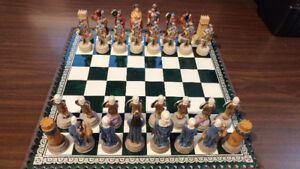 Jeu d'échecs - Chess game - made in Italy