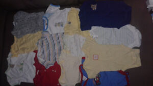 Large Assortment of 0-3 Month Baby Boy Clothing