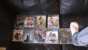Ps3 games 5$ each or all for 40$