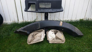 grass catcher for John Deere STX38 and 160 lawn tractors