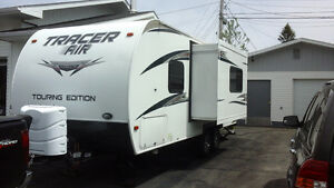 Roulotte 23.6 pieds Tracer touring édition 2014