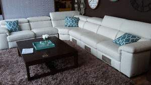 "Natuzzi Sale - 100% Italian Leather ""In Stock"" $2000 & Up"
