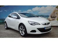 2014 VAUXHALL ASTRA GTC SPORT S/S LOW LOW MILEAGE HATCHBACK PETROL