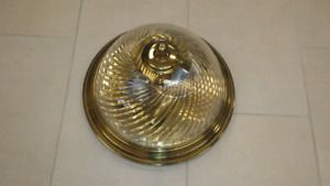 Ceiling dome light fixture. Excellent condition.