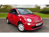 2009 Fiat 500 1.2 Pop Convertible Electric F Manual Petrol Convertible