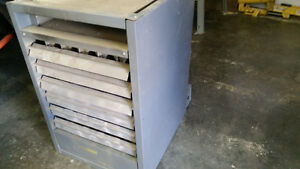 garage shop heater furnace natural gas