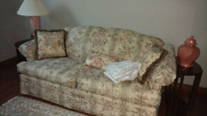 Coulter's queen soft patterned sofa bed