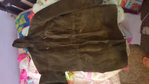 Canadian made Danier Leather winter coat.