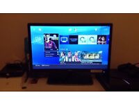 """24"""" Sharp LED full HD freeview built in"""