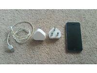 iPhone 5s, 32 gb, black, O2 network