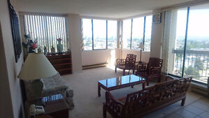 Spacious 16th Floor 2 Bedroom Apartment for Rent