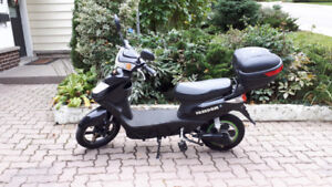 Electric - bike - Freedom black in excellent condition!