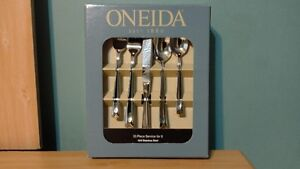 BRAND NEW Oneida Lincoln 53-Piece Flatware Set, Service for 8