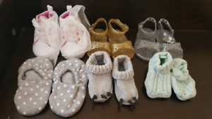 Baby Girl Shoes (Sizes in Description)