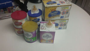 baby formula and ready to feed bottles