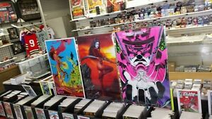 Vintage 1980s 1990s MARVEL POSTERS X-Men Spider-Man and more