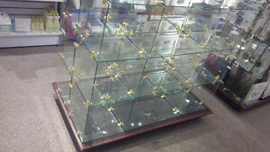 Commercial Glass Showcases and Retail Displays
